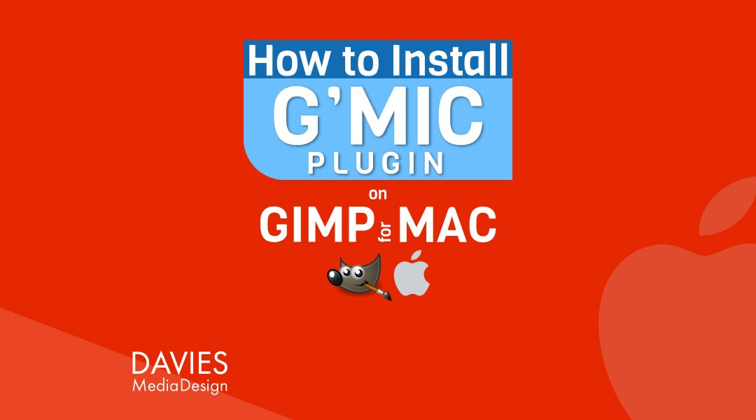 How to Install the G'MIC-QT Plugin for GIMP on a MAC