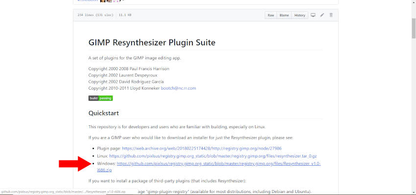 GIMP Resynthesizer Plugin Li Li File ...