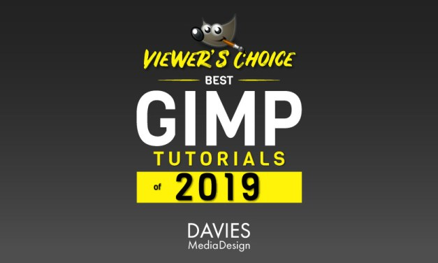 Viewer's Choice Best GIMP Tutorials of 2019