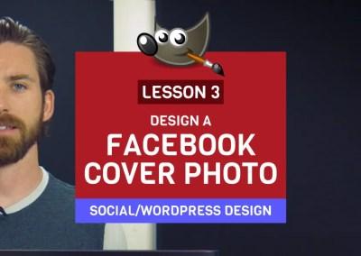 Lezing 3: Ontwerp een Facebook-omslagfoto