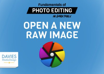 Lecture 5: Open a New RAW Image