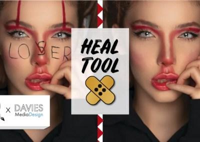 GIMP Heal Tool Tutorial (yksi suosikkini työkaluista!)