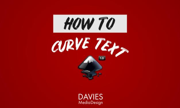 How to Create Curved Text in Inkscape 1.0