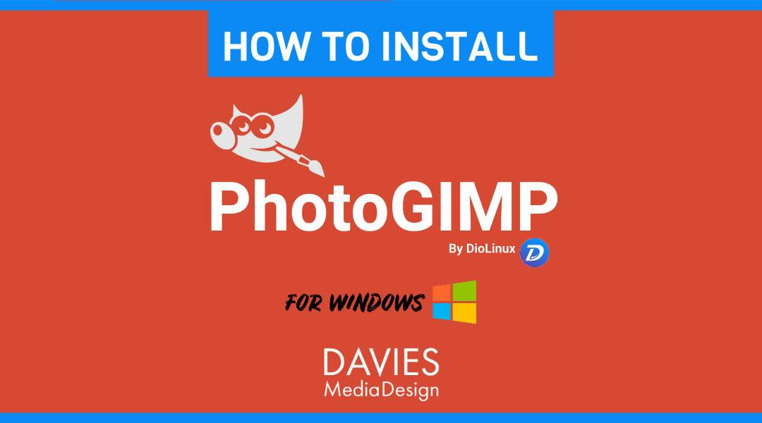 Cómo instalar PhotoGIMP para Windows