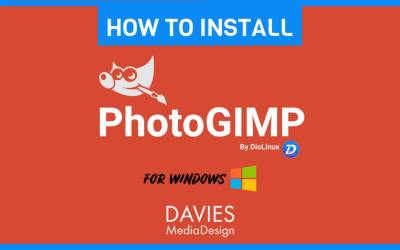 How to Install PhotoGIMP for Windows