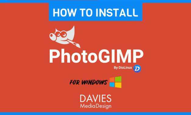 Hvordan installere PhotoGIMP for Windows