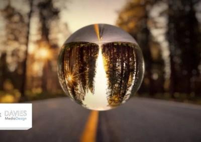 कैसे GIMP (लेंसबॉल) में एक ग्लास क्षेत्र प्रभाव बनाने के लिए