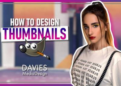 How to Design a YouTube Thumbnail in GIMP