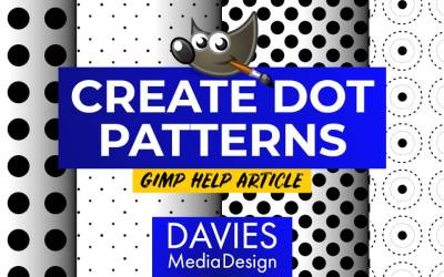 How to Create Dot Patterns in GIMP (Help Article)