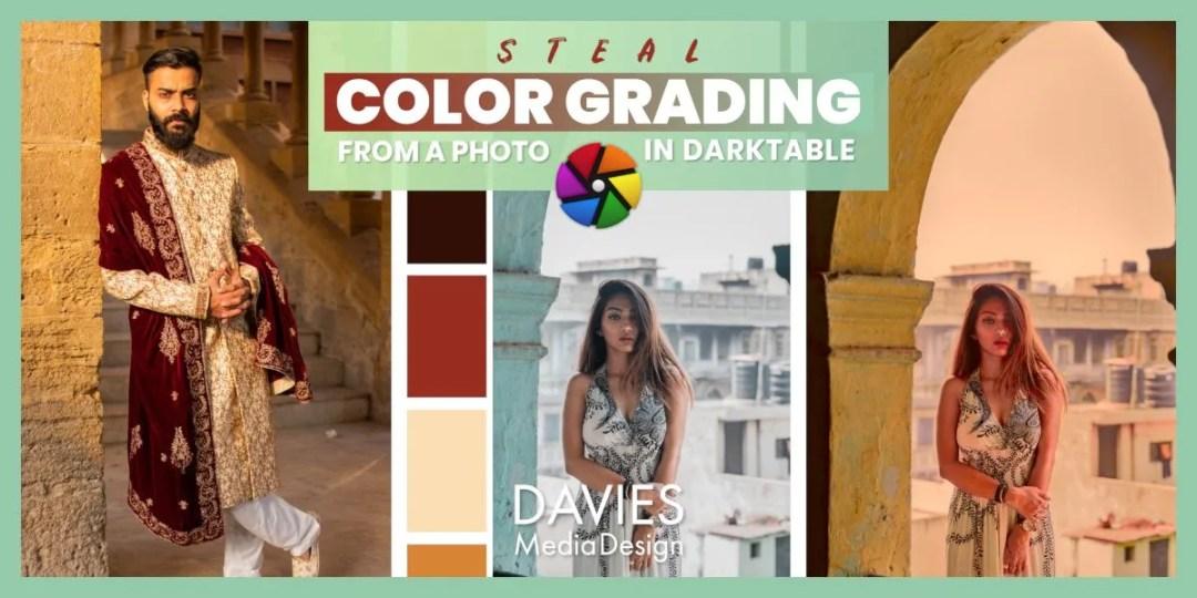 Voler l'étalonnage des couleurs d'une photo dans l'article d'aide Darktable