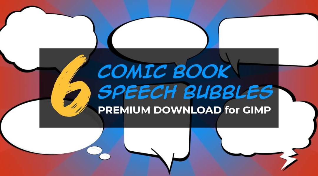 6 Comic Speech Bubbles Download
