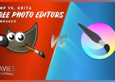 GIMP vs Krita: Er Krita betri ókeypis ljósmynd ritstjóri?
