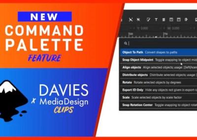 Caracteristica Paletei de comandă Inkscape 1.1 facilitează găsirea lucrurilor | Clipuri DMD