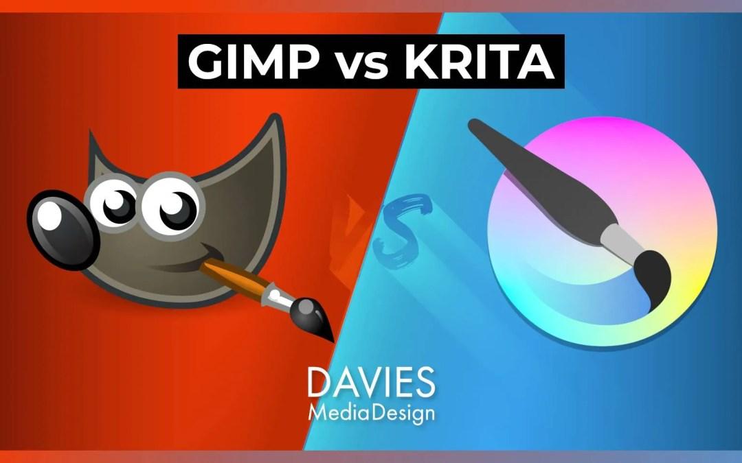 GIMP vs Krita Ókeypis ljósmynd ritstjóri samanburður