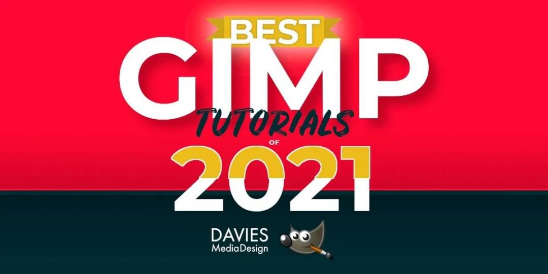 Besta af GIMP námskeiðum 2021 Davies Media Design