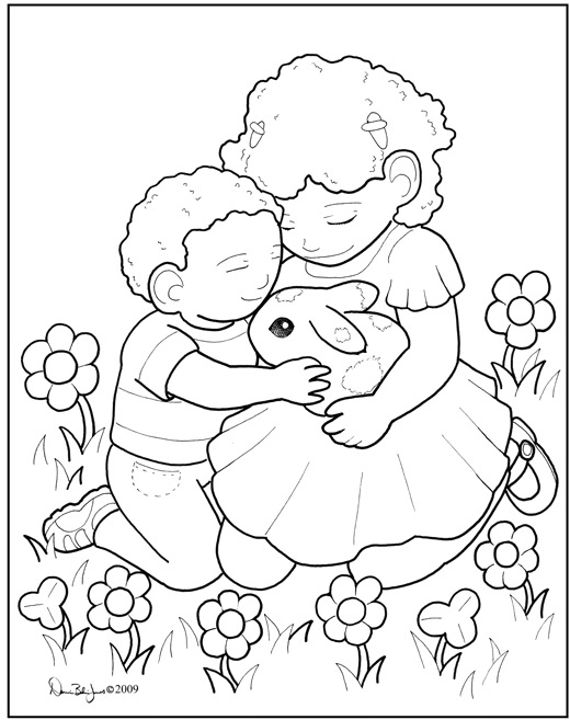 Kindness Coloring Pages Home Sketch Coloring Page
