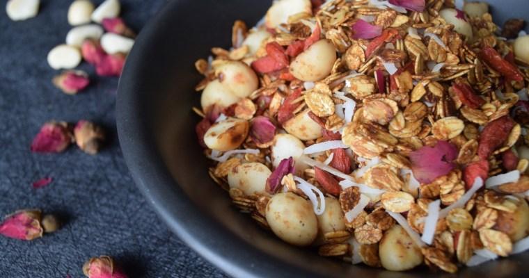 Macadamia Rose Granola