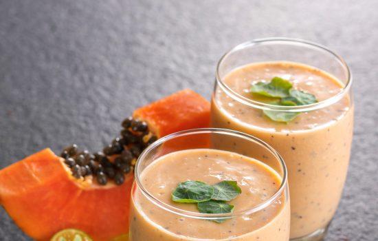 Papaya Passion Smoothie