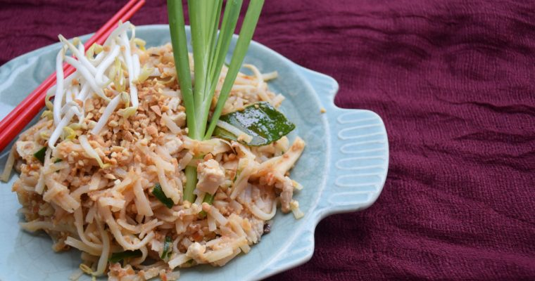 Pad Thai (Thai Noodle Stir-Fry)