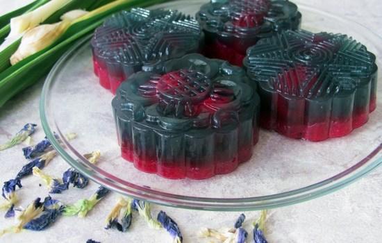 Moonlight Dragon Jelly Mooncakes