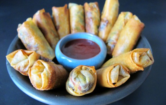 5-Colour Spring Rolls