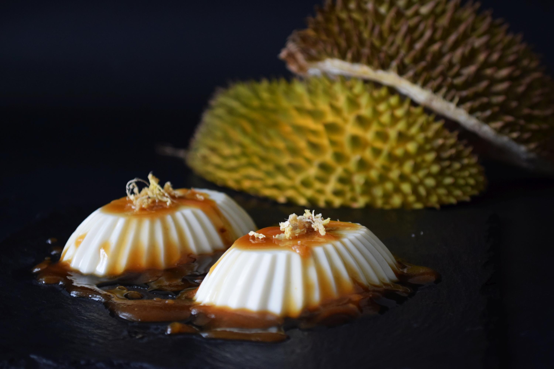 Durian Panna Cotta