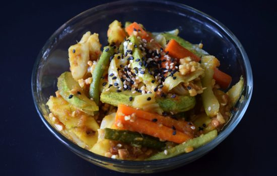 Nyonya Acar (Malaysian Pickled Vegetables)