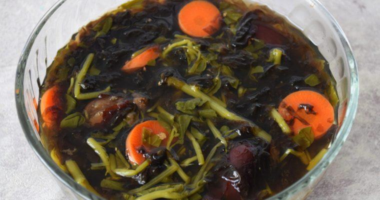 Watercress Seaweed Soup