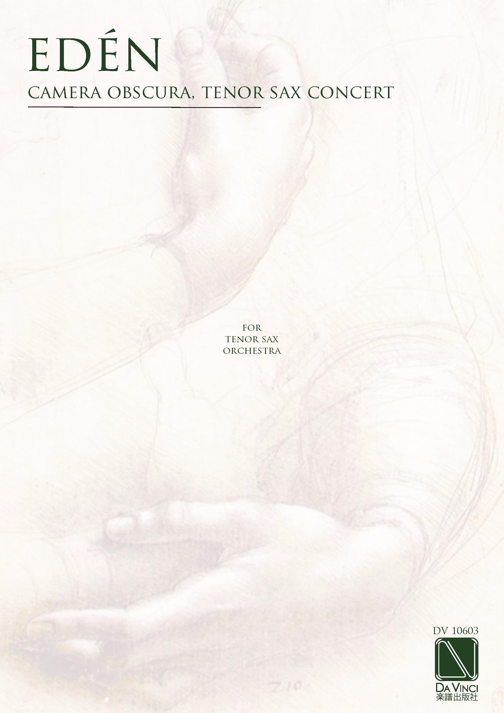 Eden Mats Camera Obscura Tenor Sax Concert Da Vinci Publishing Diagram