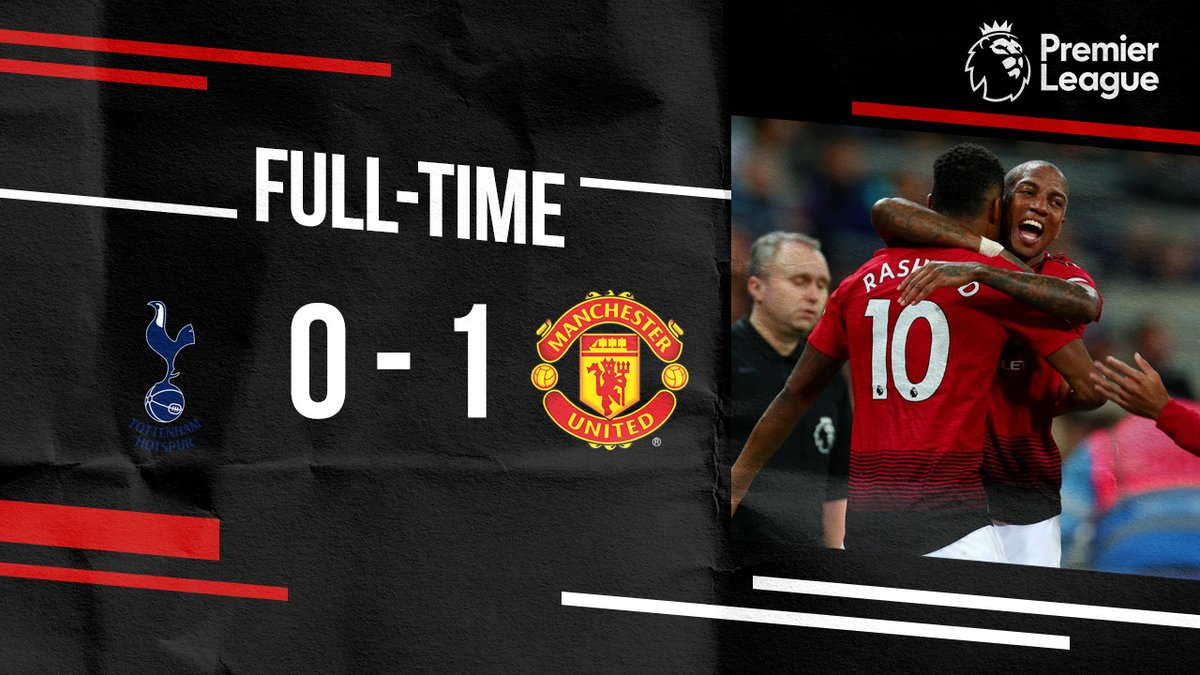 VIDEO: TOTTENHAM HOTSPUR 0 – 1 MANCHESTER UNITED [PREMIER LEAGUE] HIGHLIGHTS 2018/19