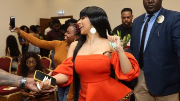 Cardi B In Lagos: Speaks About How Offset Was Persistent When She Met Him