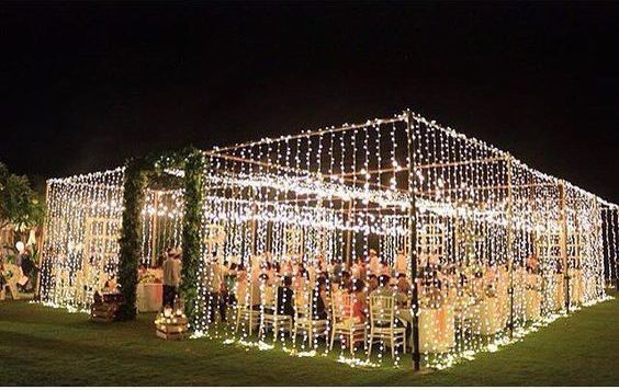 home wedding reception