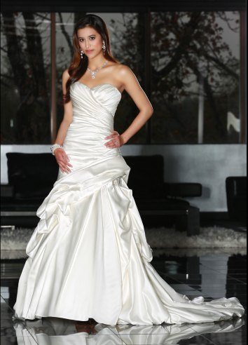Dreamy Satin Wedding Gowns