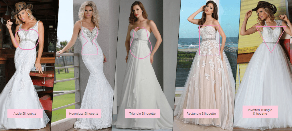 6 Tips for Choosing Your Wedding Dress by Body Type ...