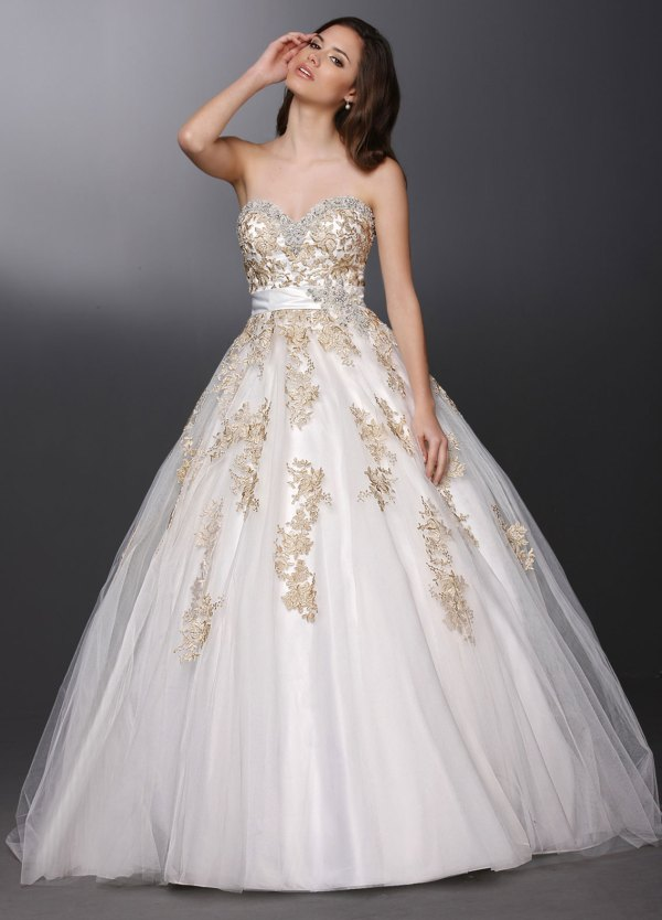 Color Me Lovely Wedding Gowns With A Hint Of Tint Davinci Bridal Blog