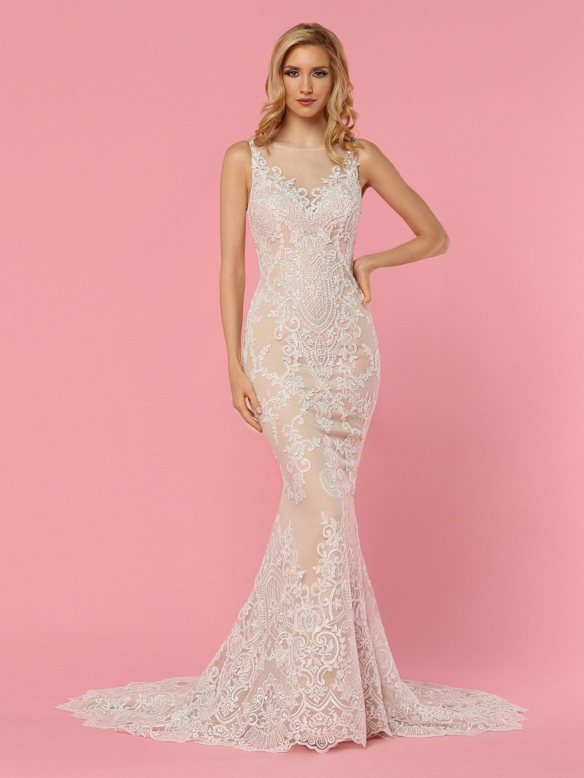 Sheath & Form Fitting Lace Wedding Dresses – DaVinci Bridal Blog