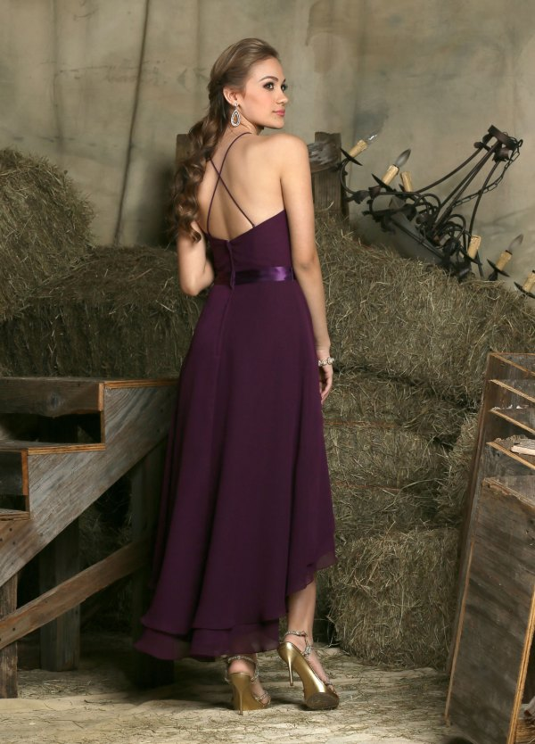 f5588949b5 New Bridesmaid Dress Trends 2019 Tea Length Bridesmaid Dresses ...