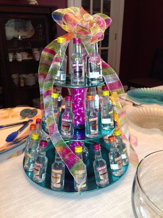 Cakes With Liquor Bottles : cakes, liquor, bottles, Liquor, Bottle, DaVinci, Bridal