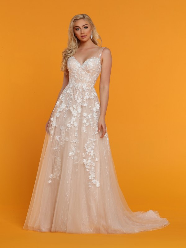 Top Spring 2019 Wedding Dress Trends 3 D Floral Lace Davinci