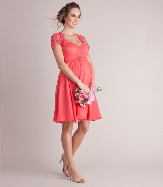 Da Vinci Wedding Gowns: 11 Tips For Pregnant Bridesmaid Dress Shopping