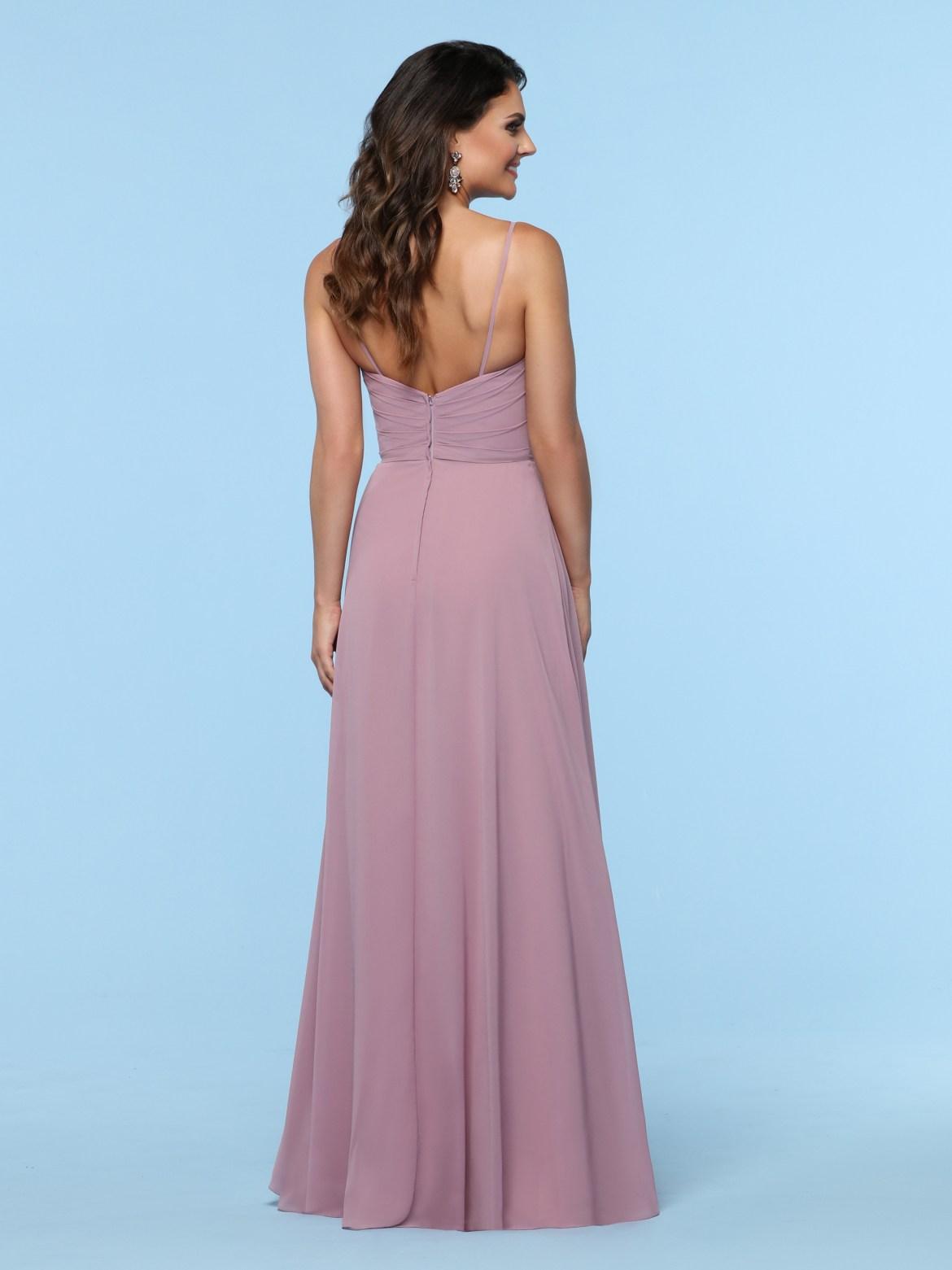 91f322562557 Strapless Chiffon Dress With Layered Skirt