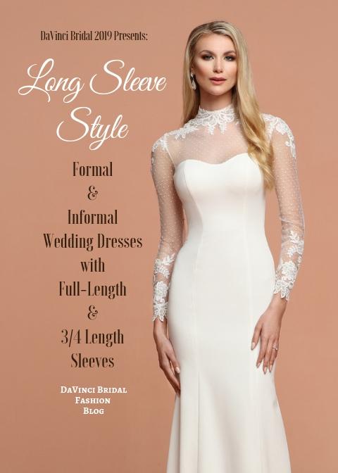 Long Sleeve Wedding Dresses For 2019 Davinci Bridal Fashion Blog