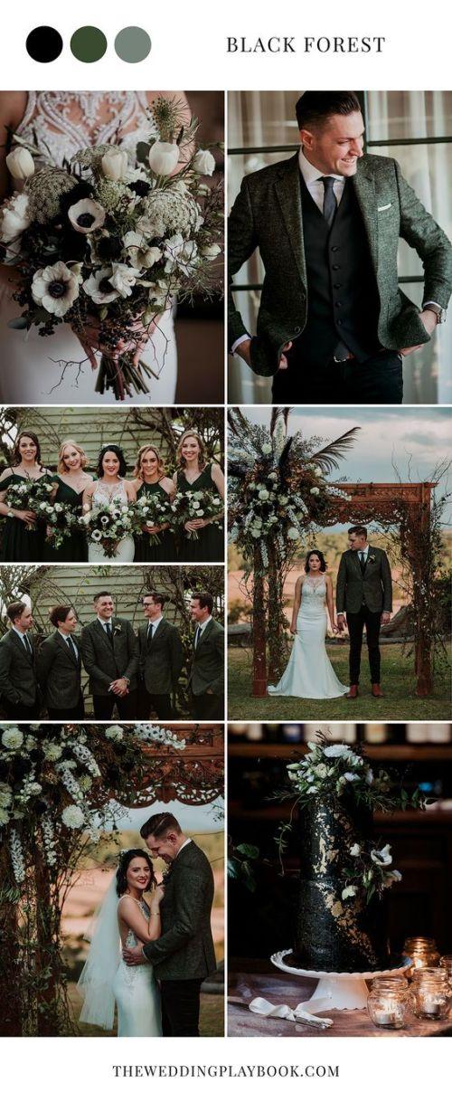 8 Classic Wedding Color Schemes Davinci Bridal Fashion Blog