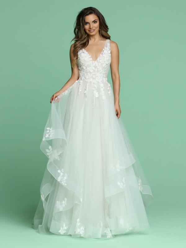 Tiered Skirt Wedding Dresses For 2020 Davinci Bridal