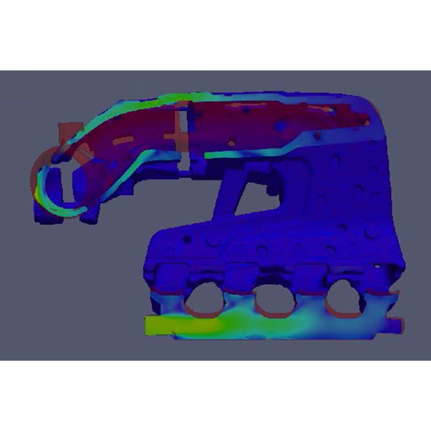 computational fluid dynamic CFD of exhaust