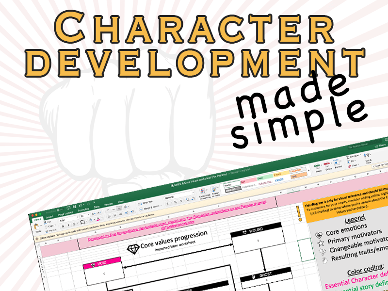 Your go-to character development spreadsheet