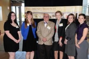 2012 Davinci Scholars cohort with Dr. Aquino