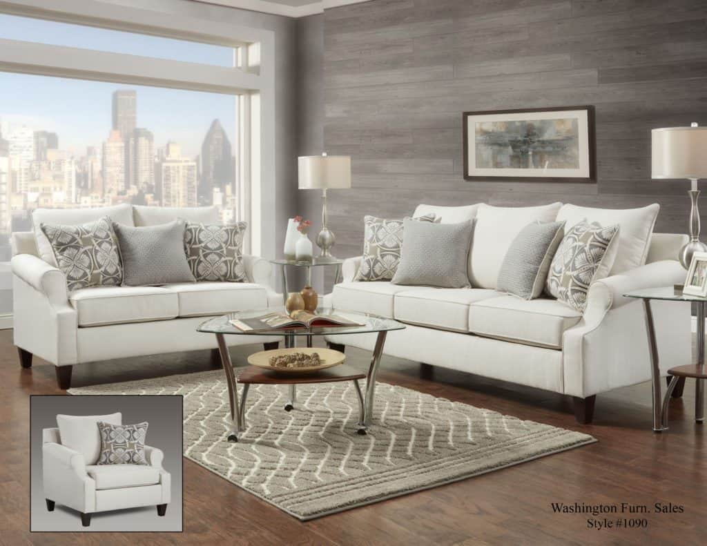 Everyday Muebles Rey Bay Ridge Cream Sofa Set Davis Appliance And Furniture