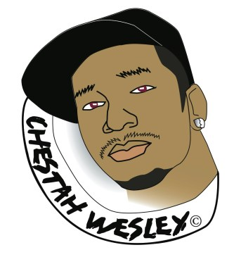 Logo for an underground rapper.