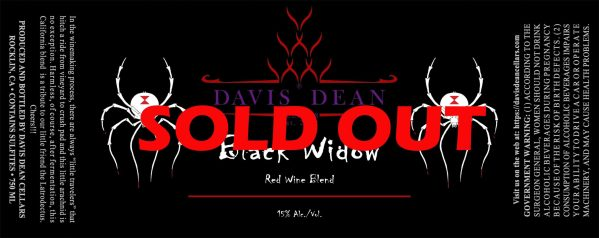 Black Widow - Sold Out